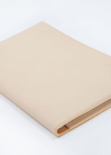 NATURAL TAN NOTEBOOK BY ROSE UNIACKE
