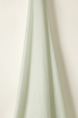 Sheer Linen in Mint