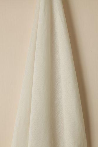 Sheer Linen in Ghost (Double Width)