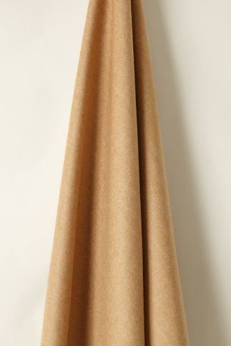 Wool in Herringbone Toffee / Camel