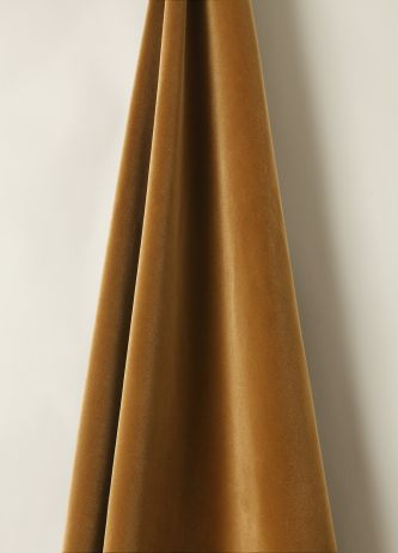 Cotton Velvet in Gingerbread