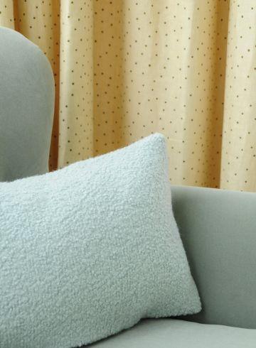 Cotton Velvet in Seafoam