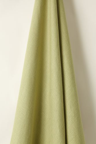 Heavy Weight Linen in Green Tea