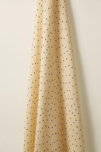 Sheer Linen in Burgundy Spot on Honey