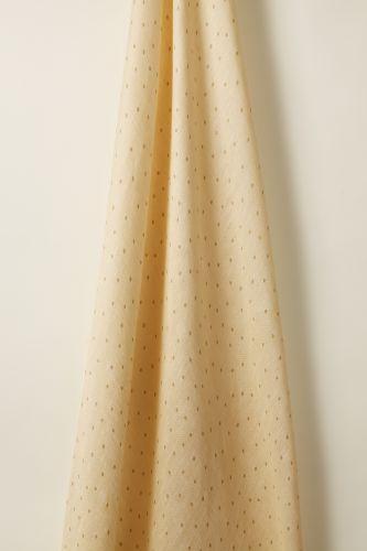 Sheer Linen in Biscuit Spot on Honey