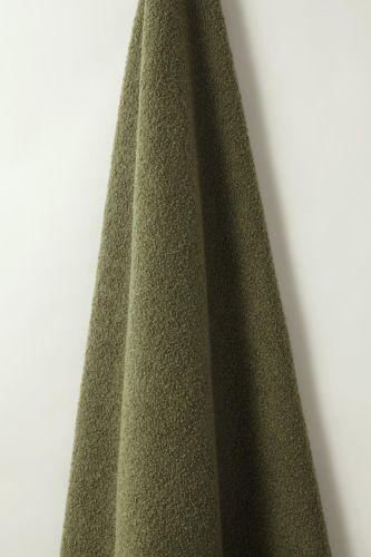 Textured Wool in Bayleaf