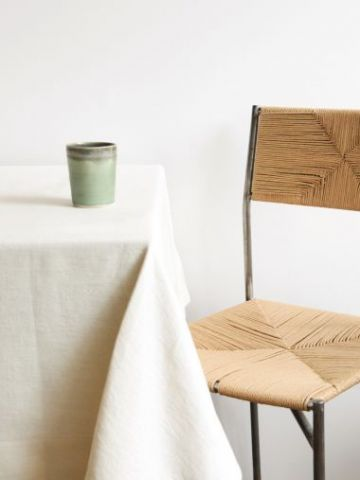 Square Linen Tablecloth