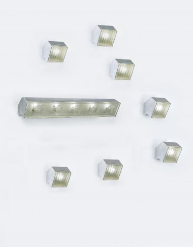 Set of Eight Wall Lights by Max Ingrand_0