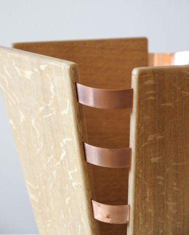Wood & Copper Bound Wastepaper Bin_2