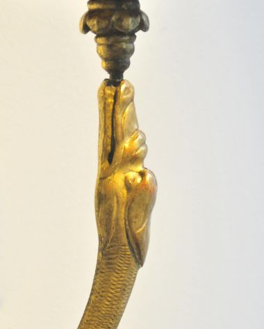 Pair of Neoclassical Gilded Wall Sconces_2