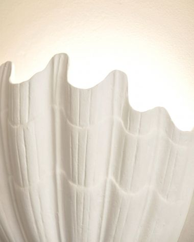Plaster Shell Uplighter by Rose Uniacke_2