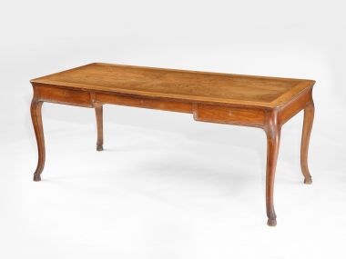 Oak Writing Table by Frits Henningsen_1