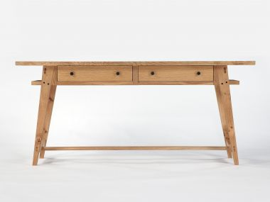 Oak Console Table with Drawers by Rose Unaicke_1
