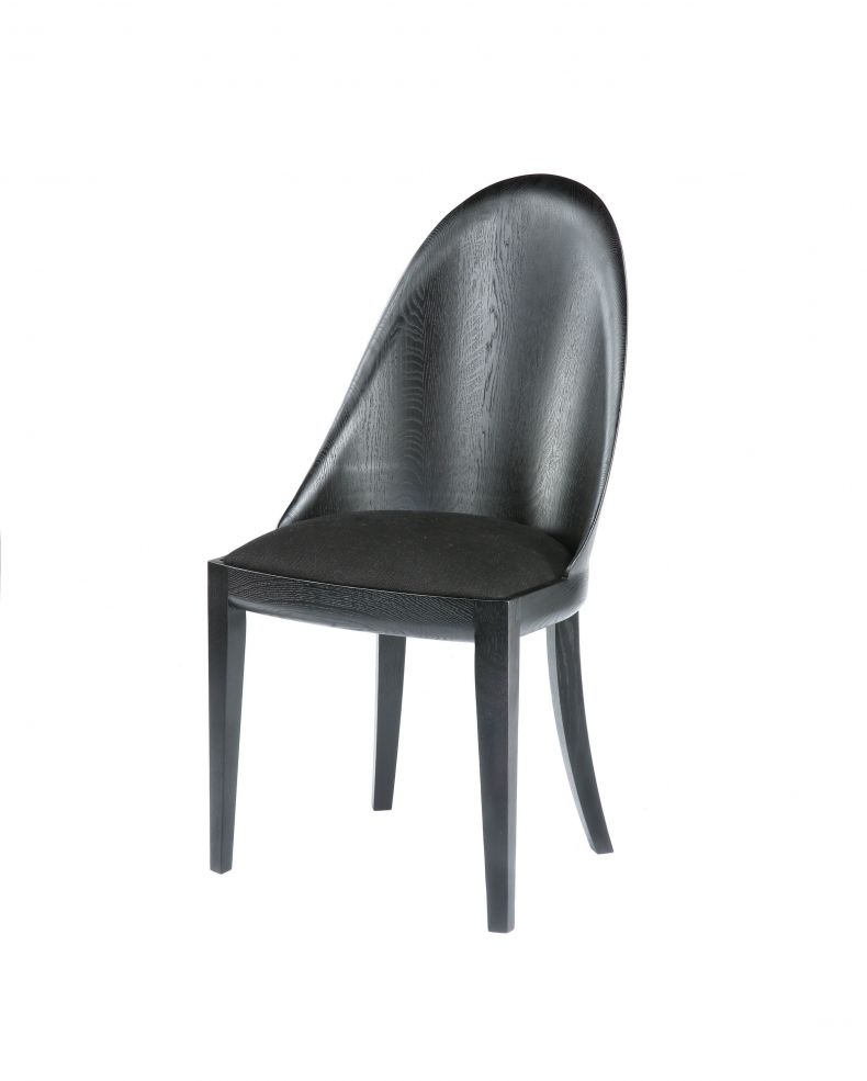 Ebonised Theatre Chair_0