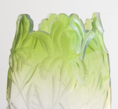 Bohemian Intaglio-Cut Vase by Moser_1