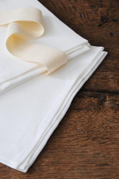 Tea Towels in 'Frost' Linen_1