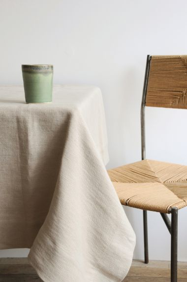 Mid Weight Linen in Otter_1