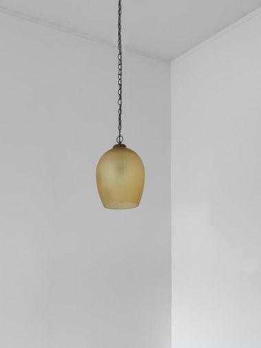 Citrine Glass Lantern by Rose Uniacke_3