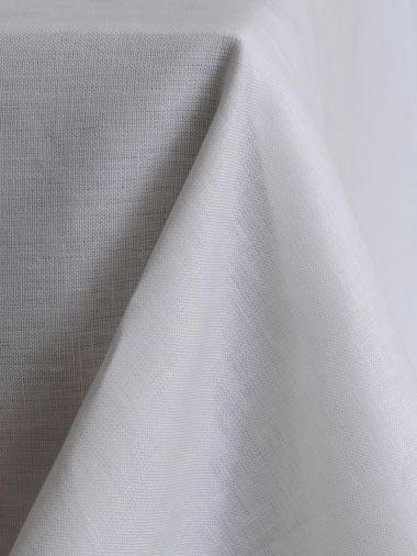 Square Tablecloth in 'Frost' Linen