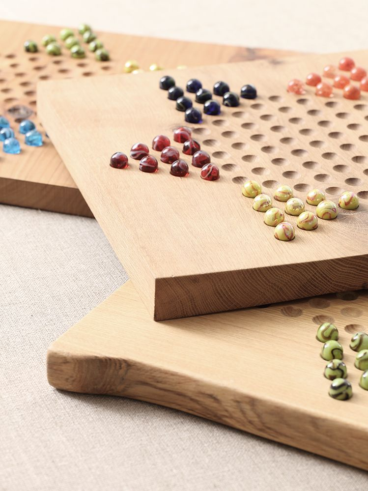 Chinese Chequers Board by Rose Uniacke_0